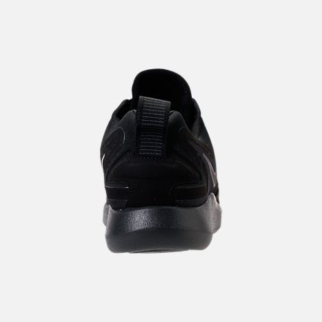 Back view of Women's Nike LunarSolo Running Shoes in Black/Anthracite