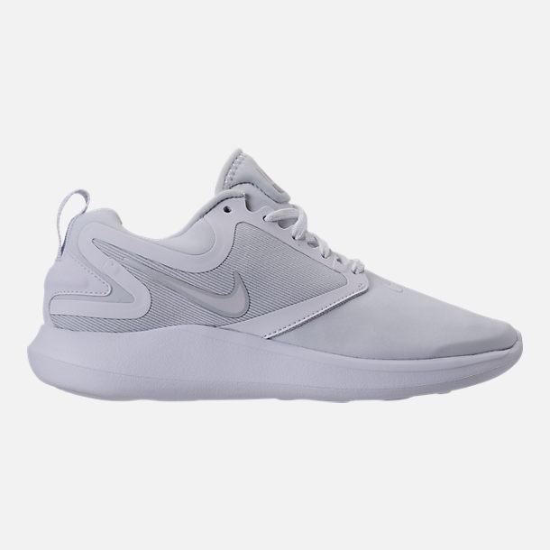 NIKE Womens Nike Lunarsolo AA4080-100 WHITE/WHITE-PURE PLATINUM Womens Size 6.5