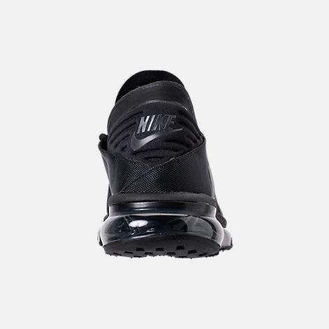 Back view of Men's Nike Air Max Flair SE Casual Shoes in Black/Anthracite/Black