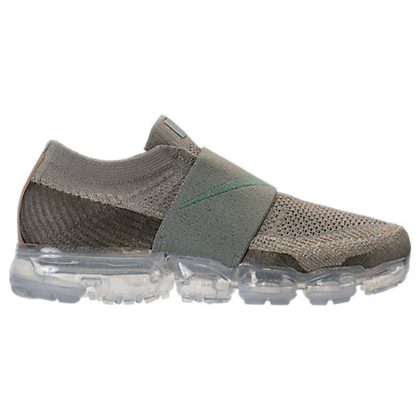 WOMEN'S AIR VAPORMAX FLYKNIT MOC RUNNING SHOES, GREY