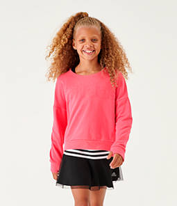 Girls' adidas Athletics Fleece Crewneck Sweatshirt