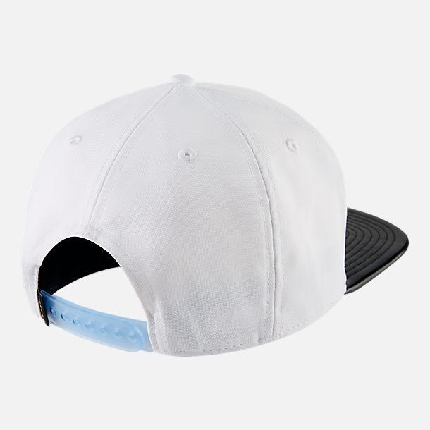55c5b584774 ... retro snapback 5de3b 6fd3c usa back view of mens jordan pro air jordan  11 snapback hat in white black c98fe ...