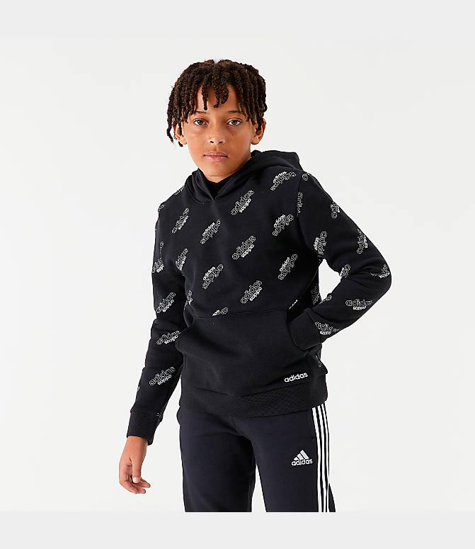 Boys' adidas Originals Core Allover Print Hoodie