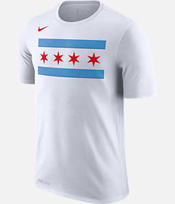 Men's Nike Chicago Bulls NBA Dry City Edition T-Shirt