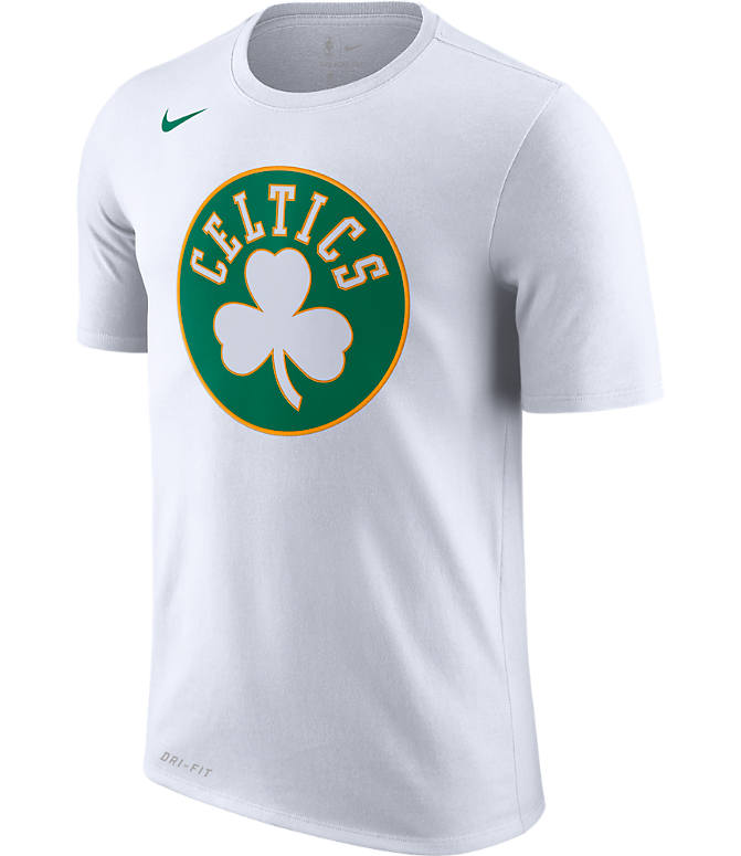Front view of Men s Nike Boston Celtics NBA Dry City Edition T-Shirt in  White 2667c07d2