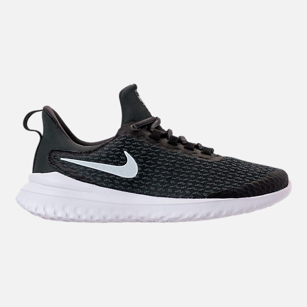 Right view of Men s Nike Renew Rival Running Shoes in Black White Anthracite cb26bc31b
