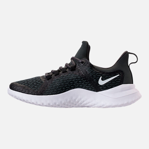 Left view of Men's Nike Renew Rival Running Shoes in Black/White/Anthracite