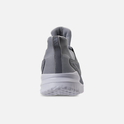 Back view of Women's Nike Renew Rival Running Shoes in Stealth/Wolf Grey/White