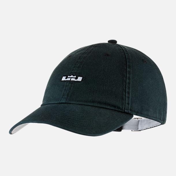773510e636e sweden jordan hats air jordan stencil 5 panel strapback cap e377f 5a68c   new zealand front view of nike lebron heritage86 adjustable back hat in  black 30252 ...