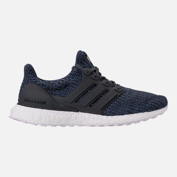 Right view of Men's adidas UltraBOOST Parley Running Shoes in Legend Ink/Carbon/Blue Spirit