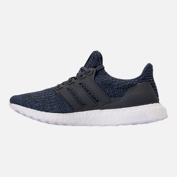 Left view of Men's adidas UltraBOOST Parley Running Shoes in Legend Ink/Carbon/Blue Spirit