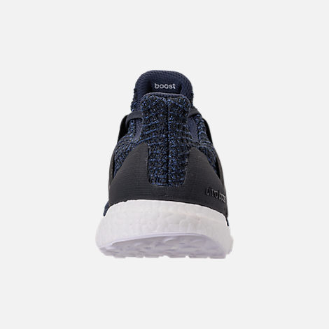 Back view of Men's adidas UltraBOOST Parley Running Shoes in Legend Ink/Carbon/Blue Spirit