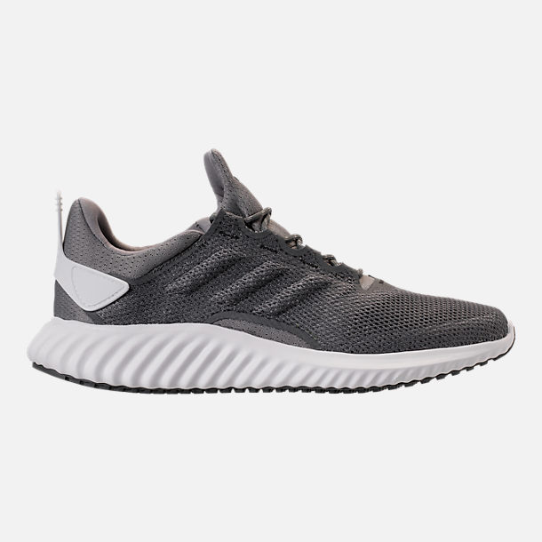 Right view of Men's adidas AlphaBounce City Climacool Running Shoes in Grey/Footwear White