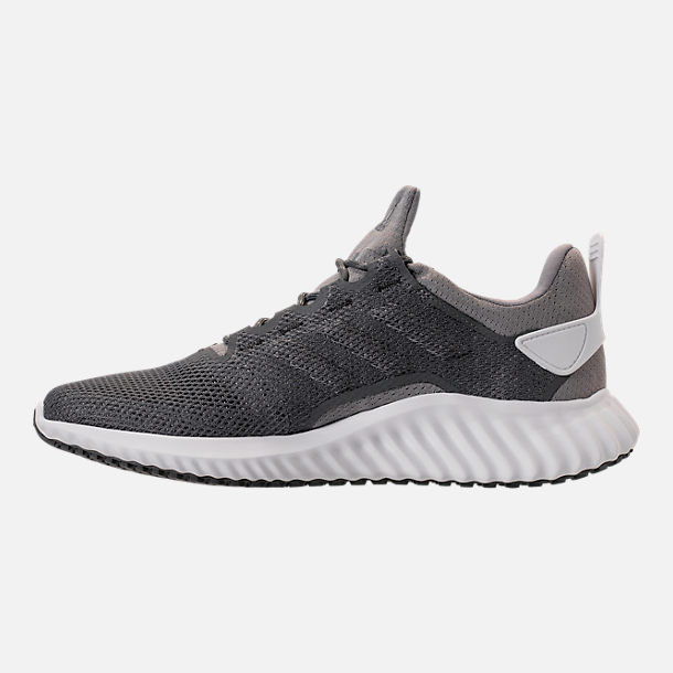 Left view of Men's adidas AlphaBounce City Climacool Running Shoes in Grey/Footwear White