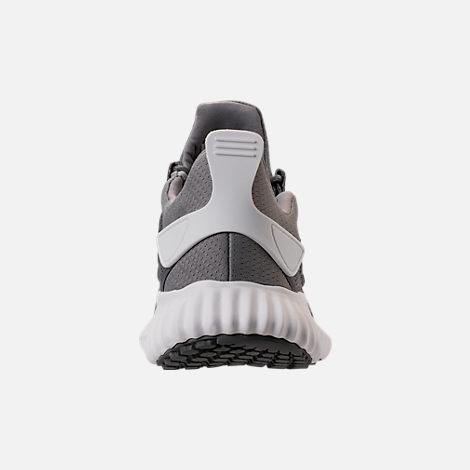Back view of Men's adidas AlphaBounce City Climacool Running Shoes in Grey/Footwear White
