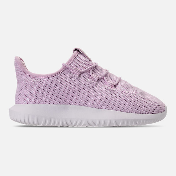 Right view of Girls' Little Kids' adidas Tubular Shadow Casual Shoes in Aero Pink/White