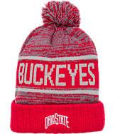 Top Of The World Ohio State Buckeyes College Acid Rain Pom Beanie Hat