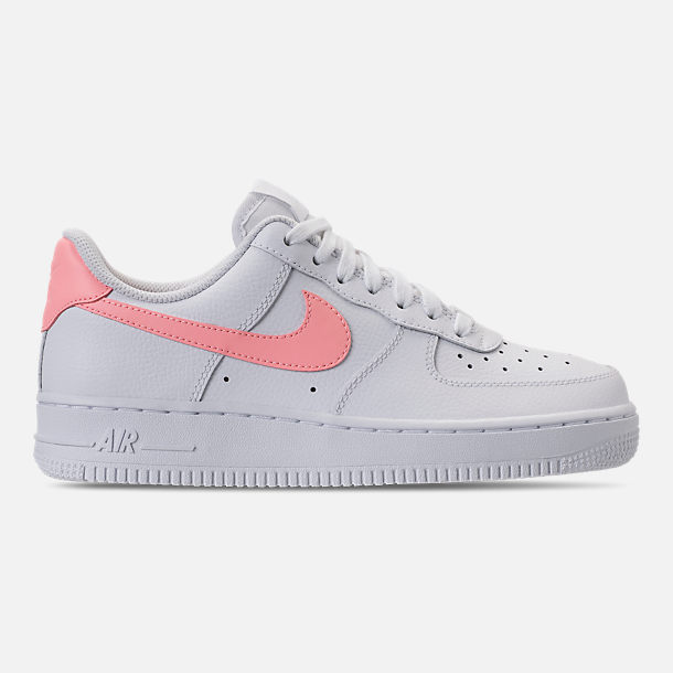 9477ac21e2c75e Right view of Women s Nike Air Force 1  07 Casual Shoes in White Oracle