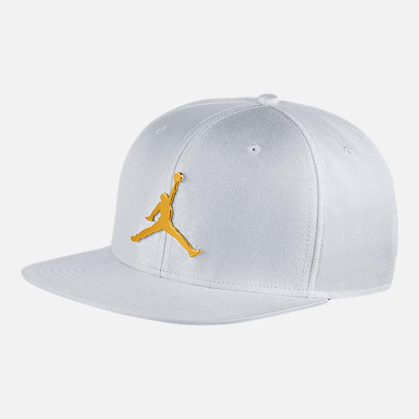 b220fbe2210 Front view of Unisex Air Jordan Jumpman Elephant Print Ingot Pro Snapback  Hat
