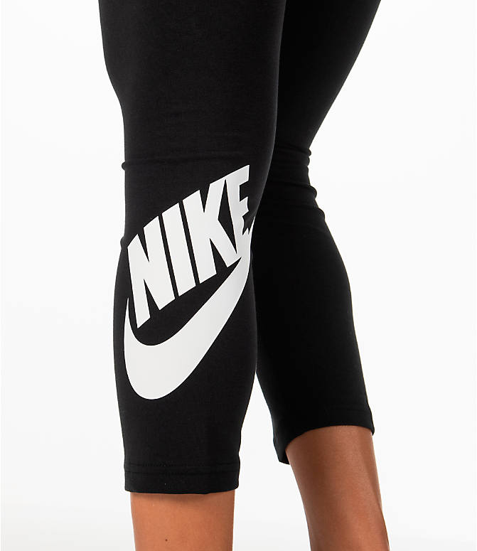Detail 1 view of Women's Nike Sportswear Leg-A-See Crop Leggings