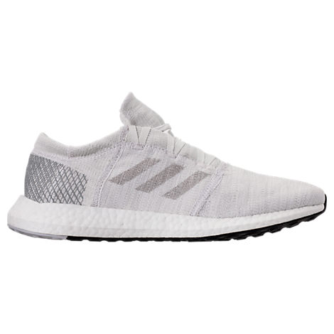 Adidas Men'S Pureboost Go Running Sneakers From Finish Line in Grey