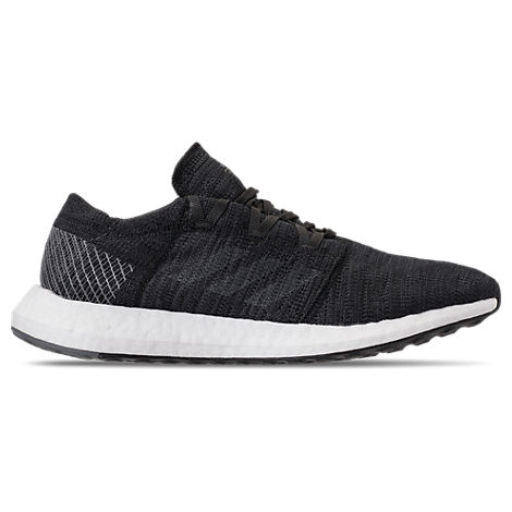 Adidas Men'S Pureboost Go Running Sneakers From Finish Line, Black