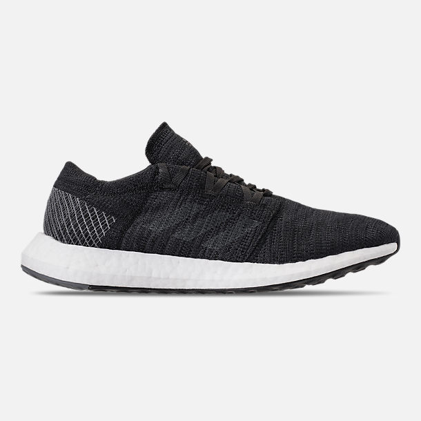 Right view of Men's adidas PureBOOST GO Running Shoes in Core Black/Grey