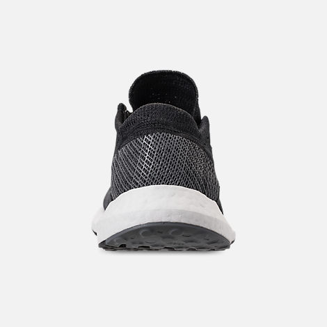Back view of Men's adidas PureBOOST GO Running Shoes in Core Black/Grey
