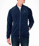 Men's Air Jordan Velour Full-Zip Jacket