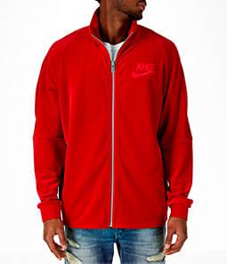 Men's Nike Sportswear Velour Track Jacket