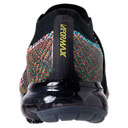5e56a6138fa3 ... Nike Air Vapormax Flyknit Moc Multi-color Anthracite Black Volt Strap  AH3397-003 ... Left view Back view .