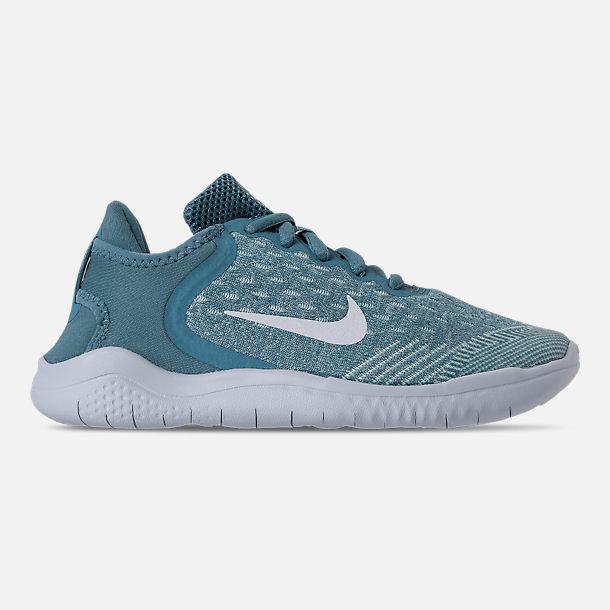 Right view of Girls' Preschool Nike Free RN 2018 Running Shoes in Noise/Aqua/White/Igloo/Pure Platinum