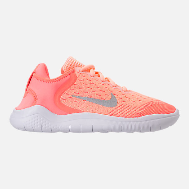 7c0d80e3223b7 ... ireland right view of girls little kids nike free rn 2018 running shoes  in crimson 1b13b