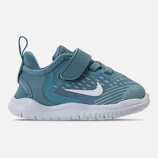 Right view of Girls' Toddler Nike Free RN 2018 Running Shoes in Noise/Aqua/White/Igloo/Pure Platinum
