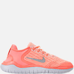 Girls' Grade School Nike Free RN 2018 Running Shoes