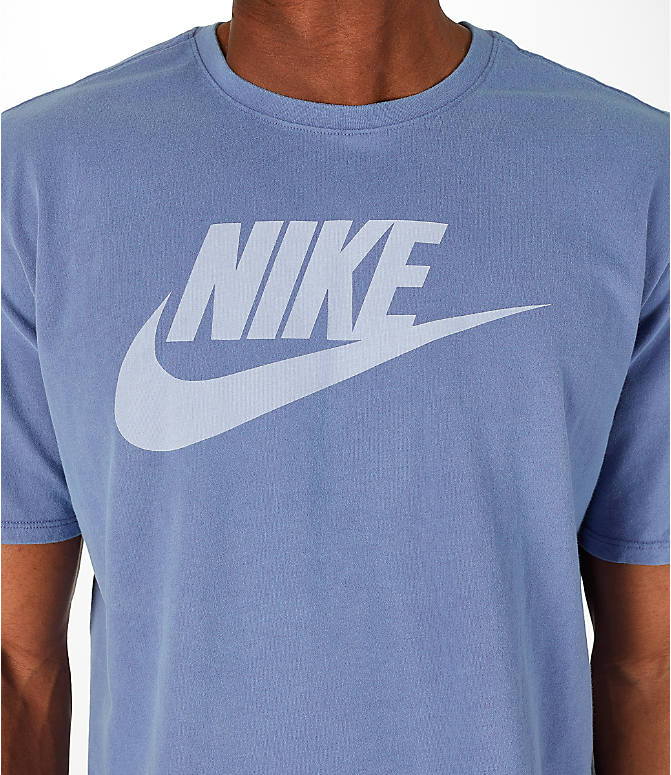 Detail 1 view of Men's Nike Sportswear Wash Pack T-Shirt in Purple