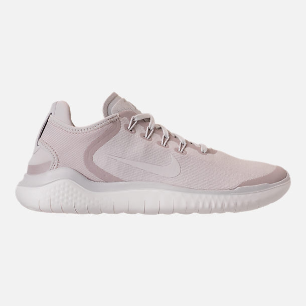 Right view of Men's Nike Free RN 2018 Sun Running Shoes in Vast Grey/Summit