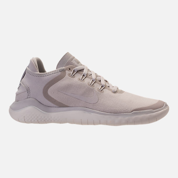 Right view of Women s Nike Free RN 2018 Running Shoes in Vast Grey Summit  White 666b9ea79b19