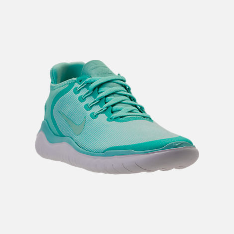 Three Quarter view of Women's Nike Free RN 2018 Running Shoes