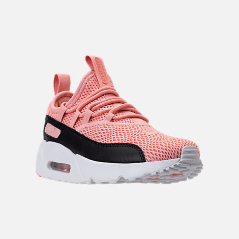 girls' grade school nike air max 90 print running shoes