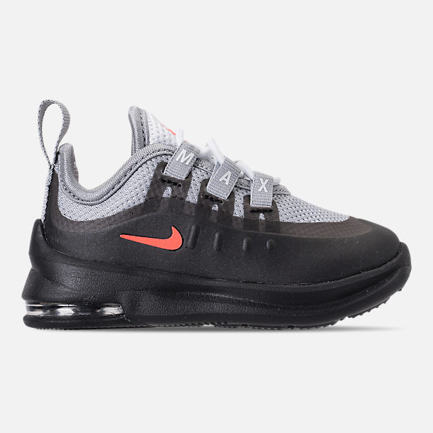 Right view of Boys' Toddler Nike Air Max Axis Casual Shoes in Wolf Grey/Total Crimson/Black/Anthracite