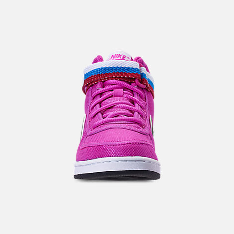 Front view of Girls' Preschool Nike Vandal Heart Casual Shoes
