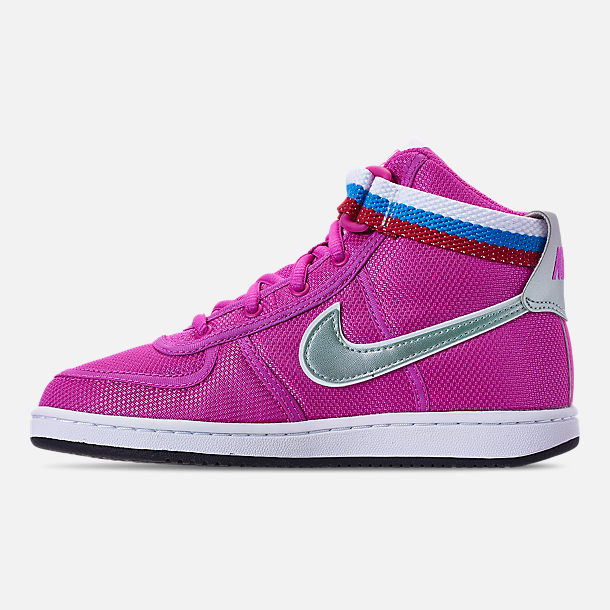 Left view of Girls' Preschool Nike Vandal Heart Casual Shoes