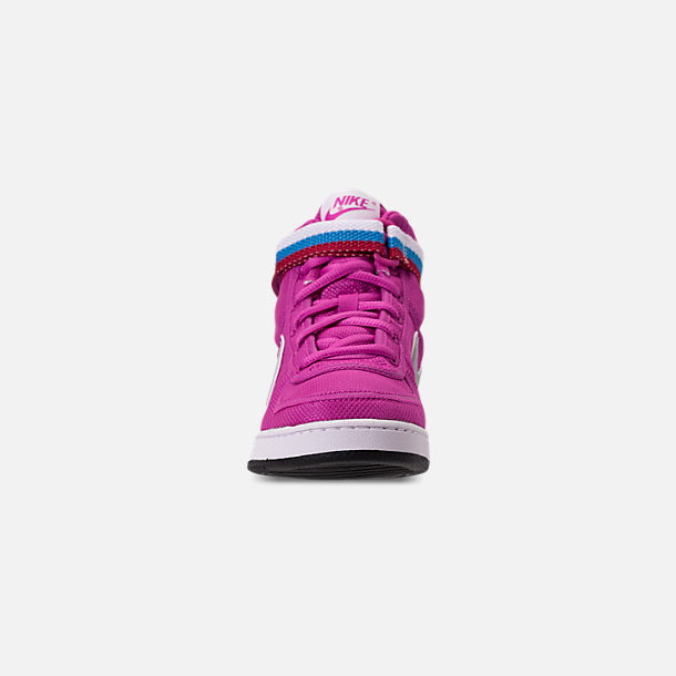 Front view of Girls' Big Kids' Nike Vandal Heart Casual Shoes