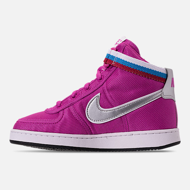 Left view of Girls' Grade School Nike Vandal Heart Casual Shoes