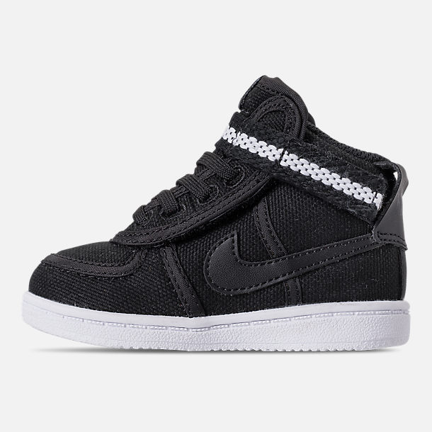 Left view of Boys' Toddler Nike Vandal High Supreme Casual Shoes