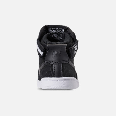 Back view of Boys' Toddler Nike Vandal High Supreme Casual Shoes