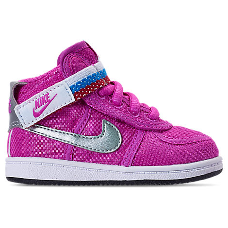 GIRLS' TODDLER VANDAL HEART CASUAL SHOES, PINK