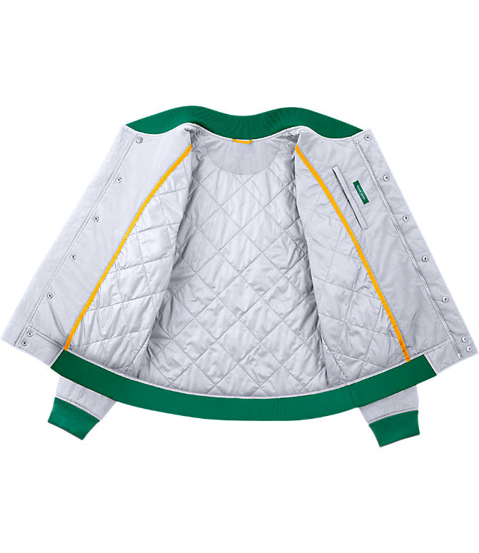 Product 3 view of Men's Nike Boston Celtics NBA Courtside Jacket in White