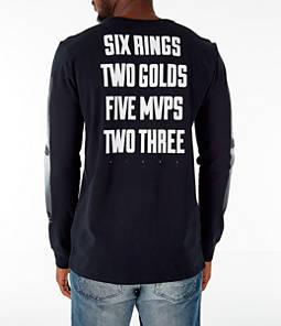 Men's Jordan Sportswear Heritage GFX2 Long-Sleeve T-Shirt